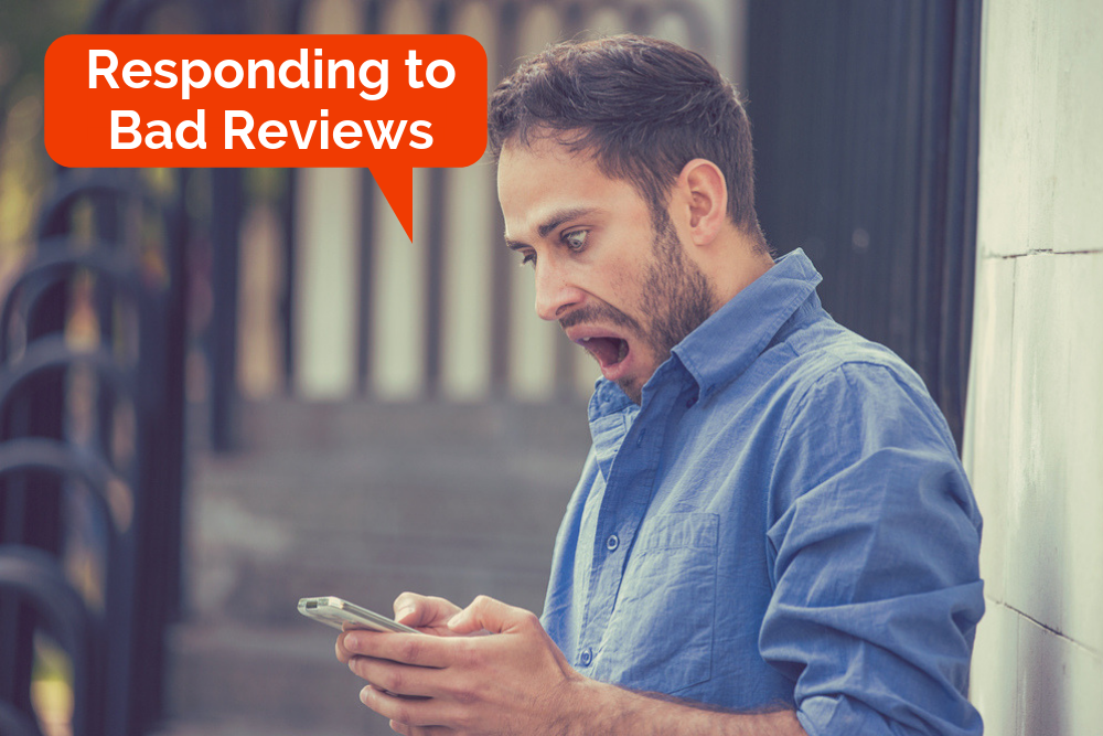 Responding to negative online reviews