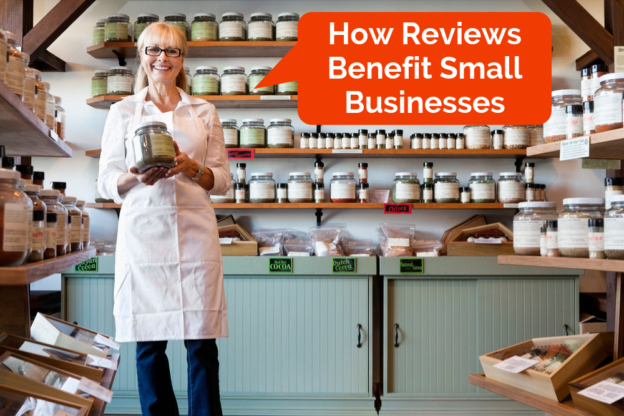 Benefits of online business reviews.