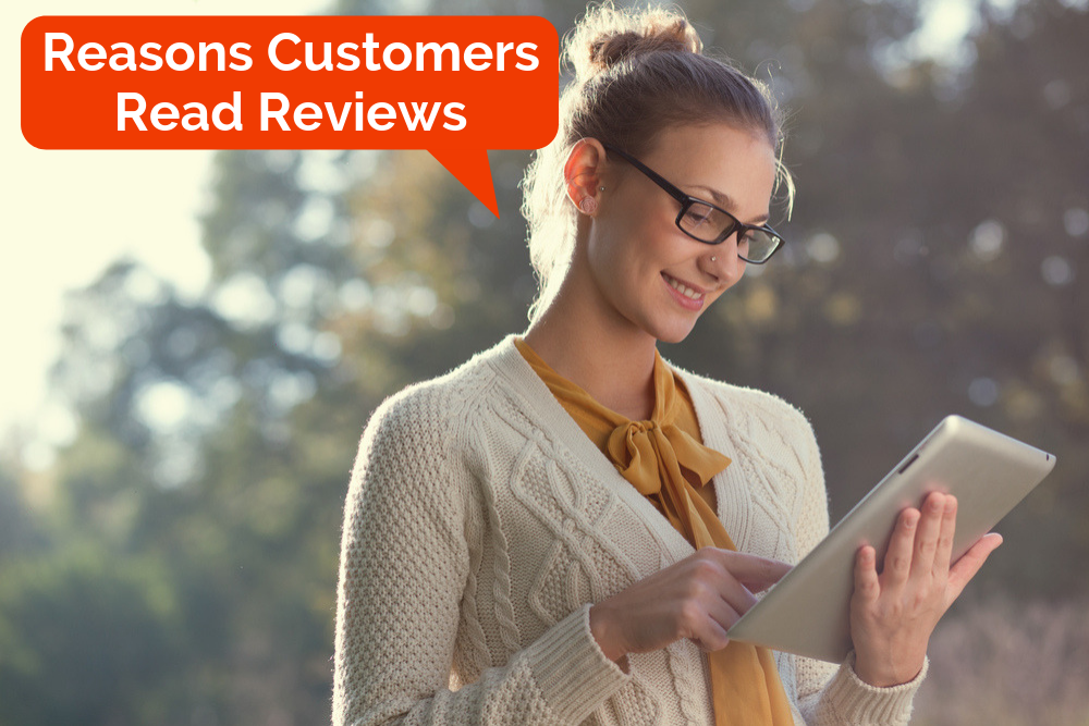 Consumers rely on positive online reviews today